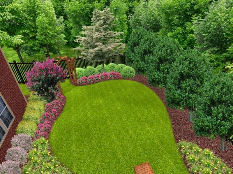 Backyard Garden Ideas Small : Small backyard landscaping ideas home designs