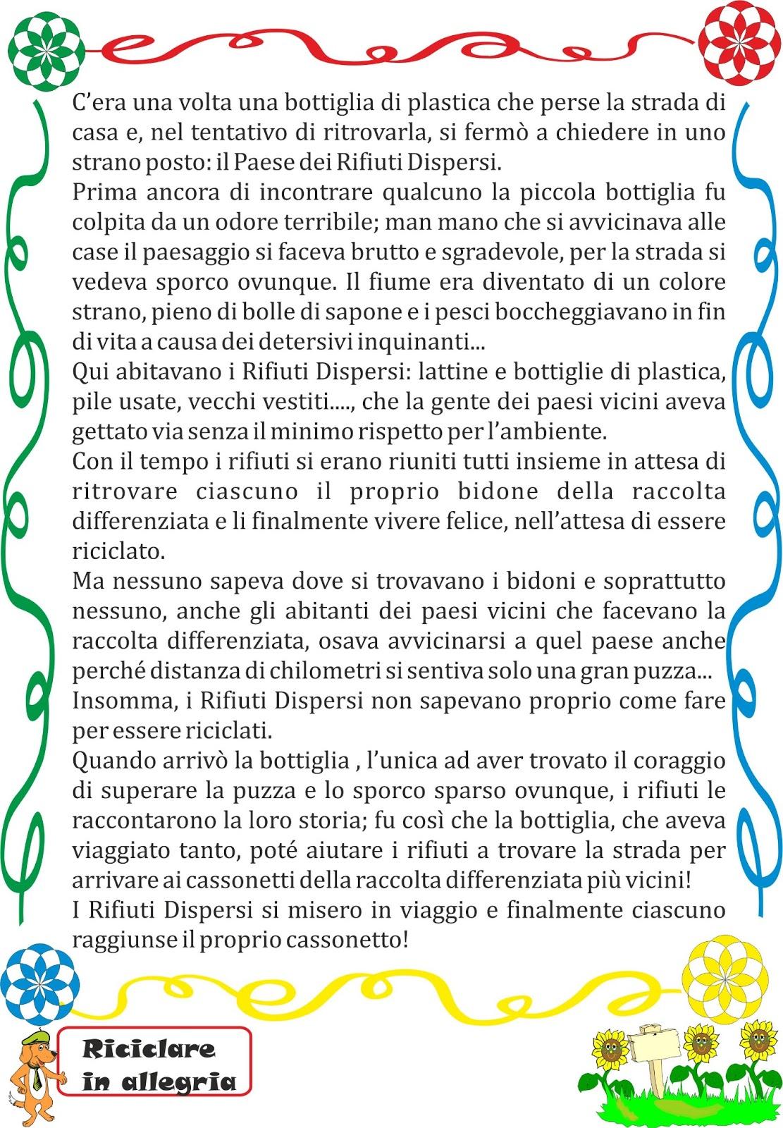 Extrêmement A Scuola con Poldo: SCHEDE DIDATTICHE RICICLO RS92