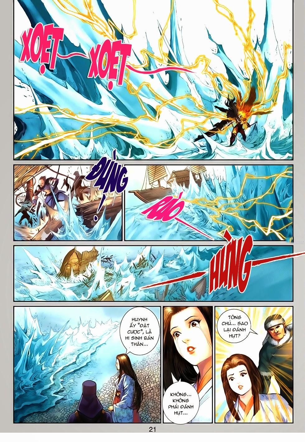 Thần Binh Tiền Truyện 4 - Huyền Thiên Tà Đế chap 13 - Trang 21