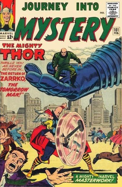 Journey Into Mystery #101, Thor vs Zarrko