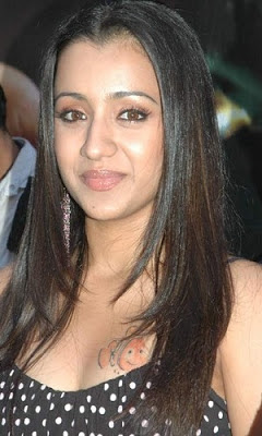 Trisha Hot Cleavage Pics