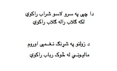 The Best Poetry Site: Nice Pashto Poem