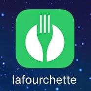 LaFourchette la fourchette lafourchette logo app application esteban