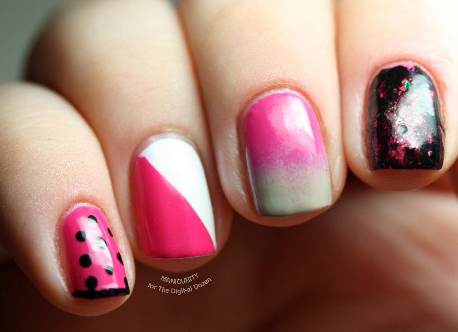 Nail Art Ideas nail art patterns : A Dozen... Easy Nail Art Patterns! - The Digit-al Dozen