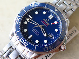OMEGA SEAMASTER PROFESSIONAL CO AXIAL CHRONOMETER 300 METER BLUEDIAL CERAMIC BEZEL - OMEGA BOND