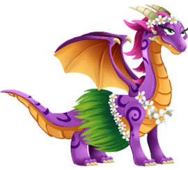 imagen del dragon hawaiana de dragon city
