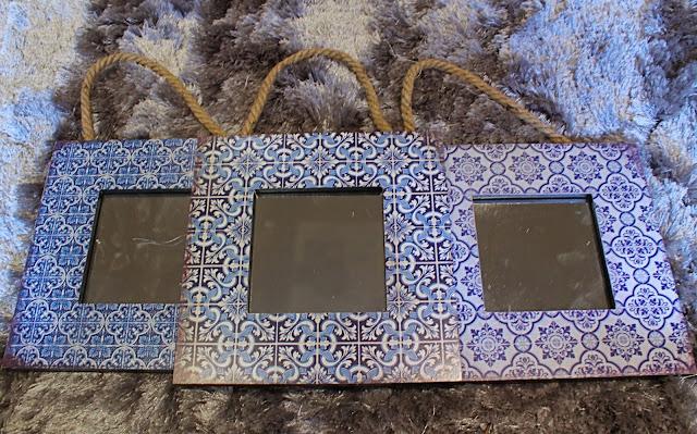 BHS santorini mirrors