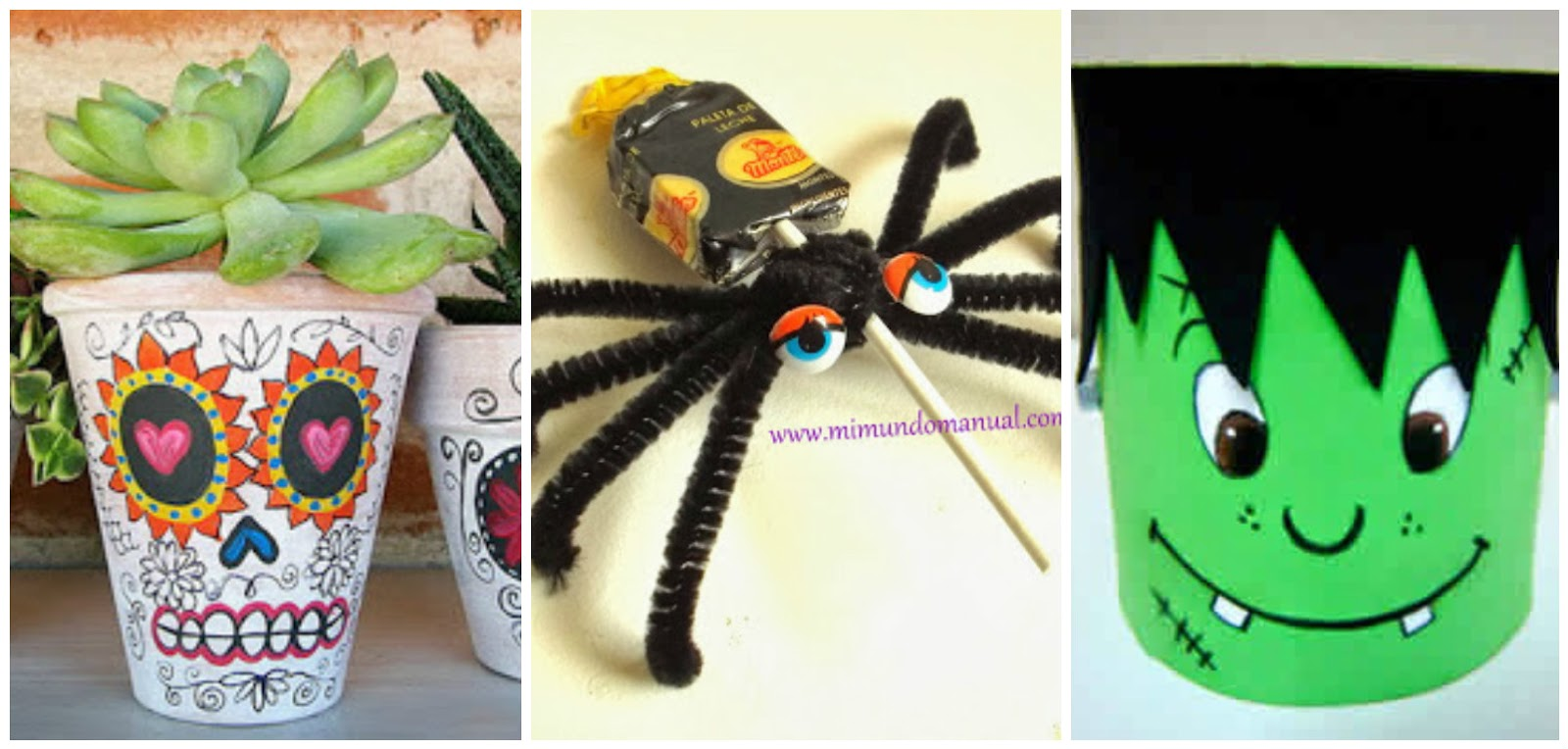 Manualidades para halloween en foami paso a paso for Decoracion halloween manualidades