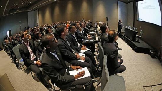 CBF sediou seminário com os árbitros brasileiros nesta sexta-feira, no Rio de Janeiro