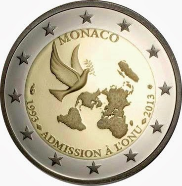 2 euro Monaco 2013, membership of the United Nations