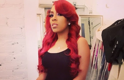 K Michelle Hairstyles 2013 just last week we saw the release of k michelle s lead single
