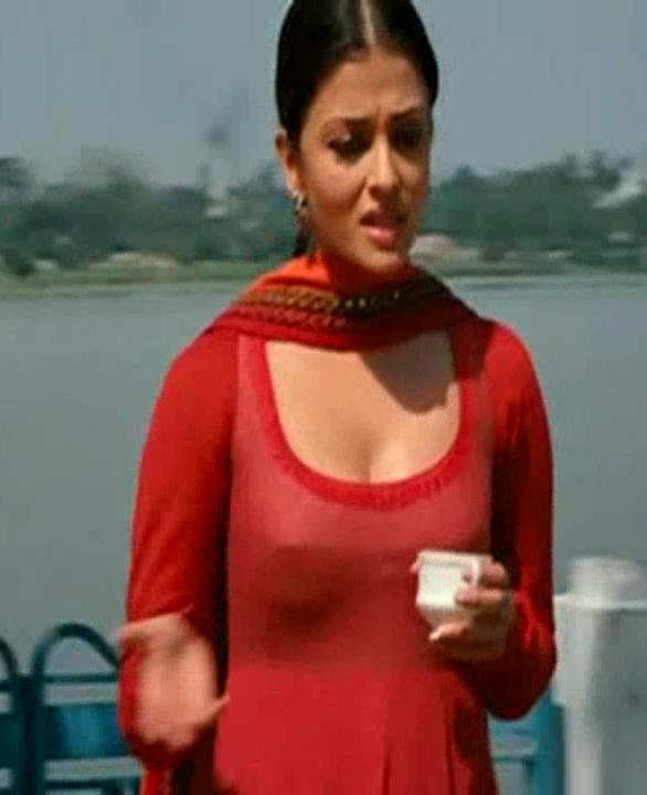 ... rai nipple exposed photos, Aishwarya rai boobs nipple show stills