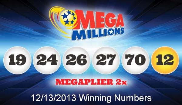 Mega Millions Winning Numbers