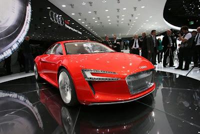 Audi R8 E-Tron Picture
