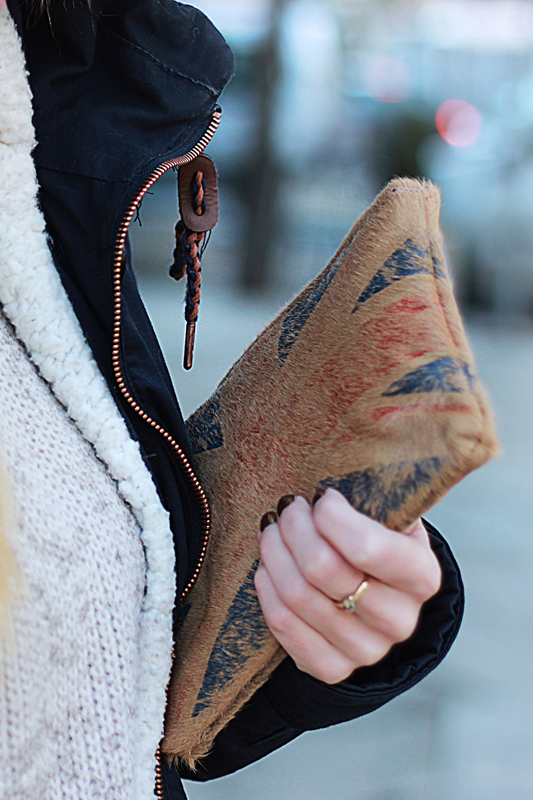 3 layers turtleneck sweater wool female mask 5