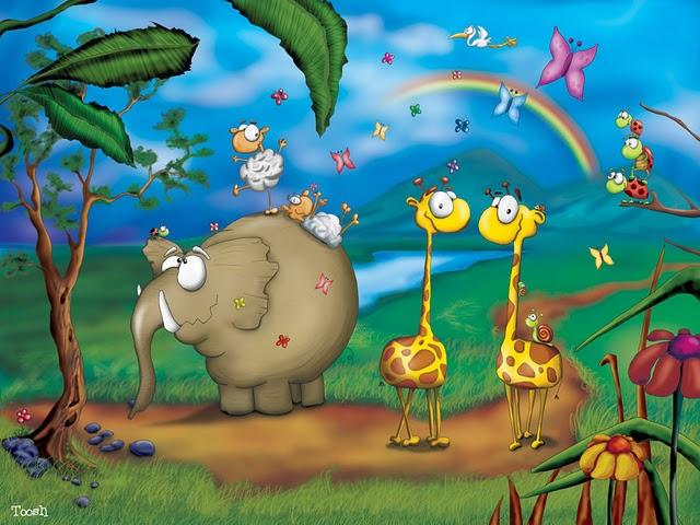 Imagenes animales divertidos para imprimir - Imagenes y dibujos ...
