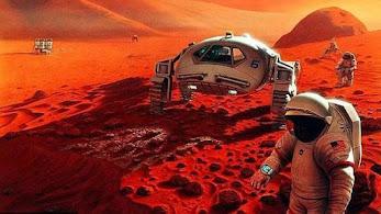 ¿A que huele Marte?