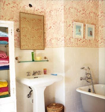 Best Wallpaper Ideas for the Bathroom << Best home wallpaper ...