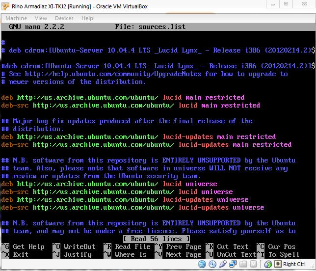Misalnya saya menyimpan repo localnya di media/galery/master/ubuntu-tool/repo1004