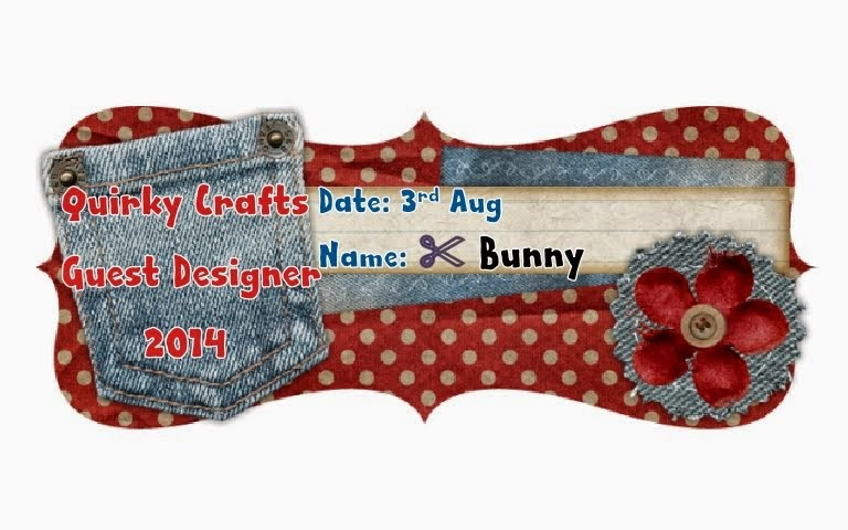 Quirky Craft August Guest Designer