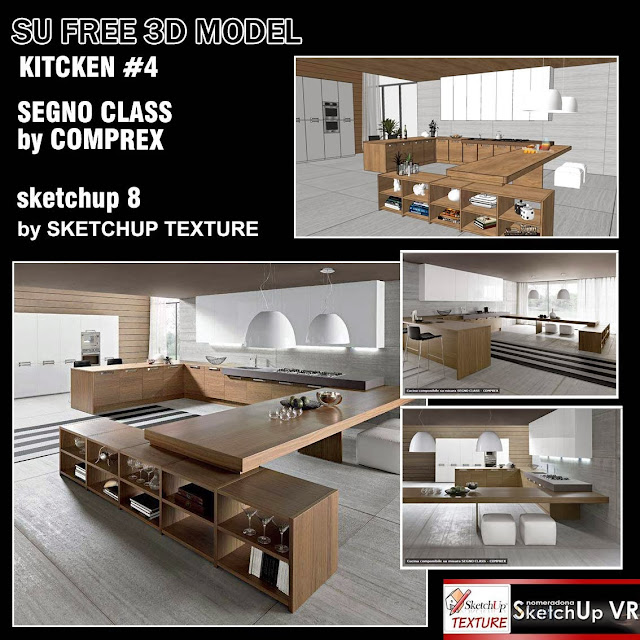 SKETCHUP TEXTURE: SKETCHUP MODEL KITCHEN