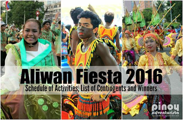 Aliwan Fiesta 2016 Schedule