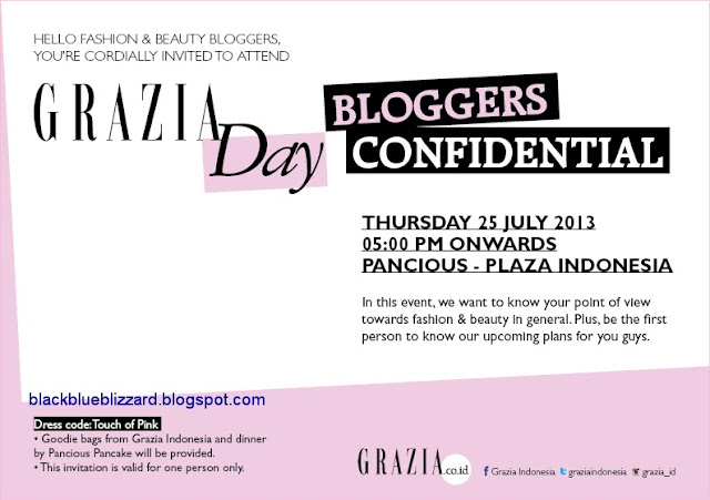grazia magazine, Indonesia, event,blogger,fashion, beauty,pancious,jakarta