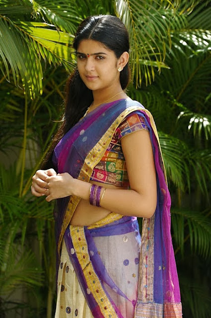 Deeksha Seth In Half Saree
