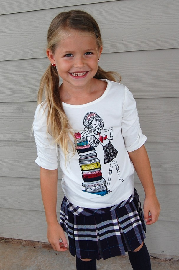 Inside Natalie's Closet: First Day Of School Outfit