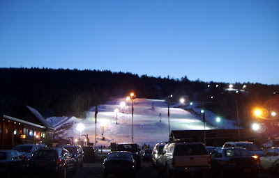 West Mountain, Wedndesday evening March 7, 2012.   The Saratoga Skier and Hiker, first-hand accounts of adventures in the Adirondacks and beyond, and Gore Mountain ski blog.