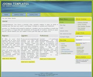 joomla 2.5 business templates