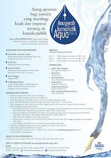 Anugerah Jurnalistik Aqua 2012