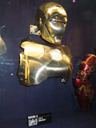 Original Iron Man Mark II helmet and chest plate from Iron Man (ironman markii armour)