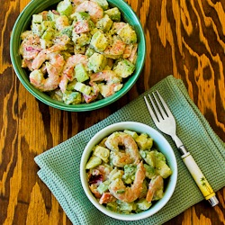 Kalyn's Kitchen®: Shrimp, Avocado, and Red Pepper Salad ...