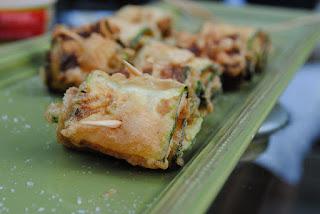 rouleaux aux courgettes épicés (vegan, sans gluten)