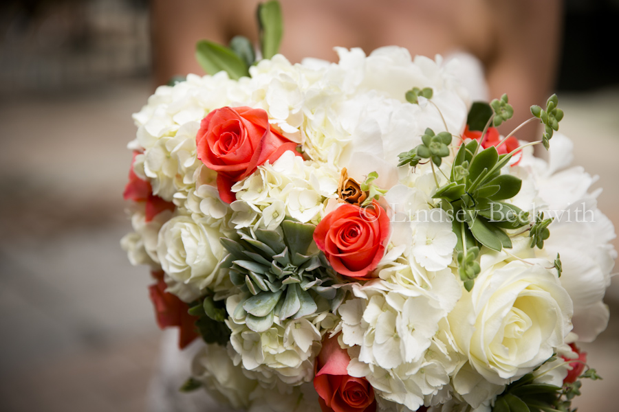 Bridal Flowers Orange Roses With Flower From Mother 39 S Wedding Bouquet