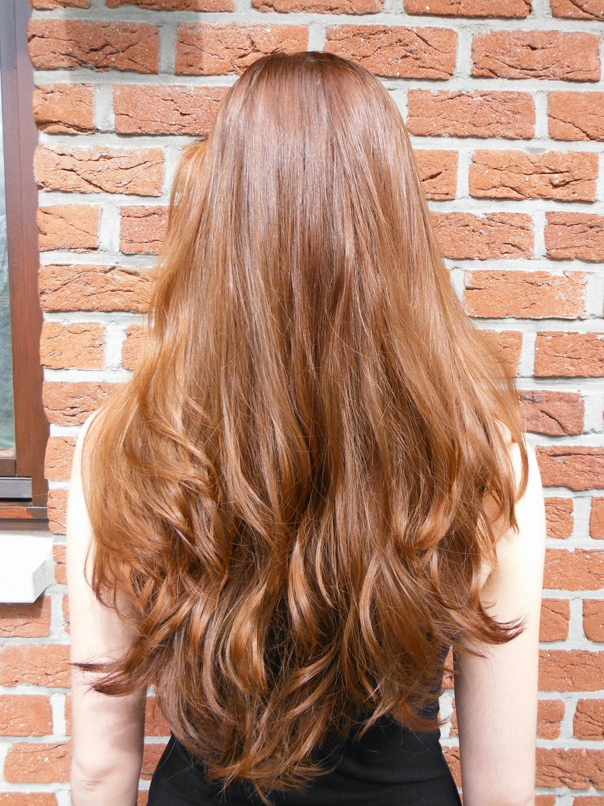 Once Upon A December Henna Hair Results