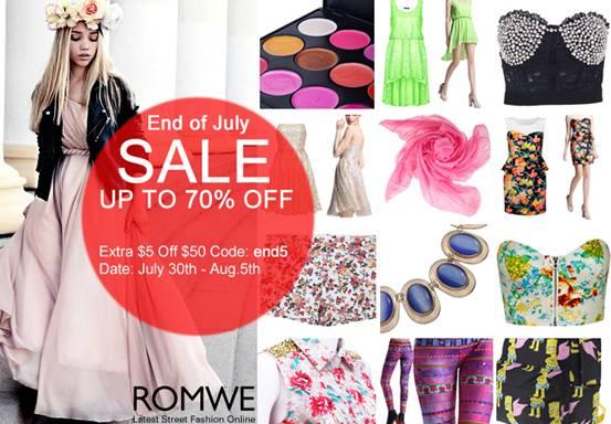 Promoção Romwe