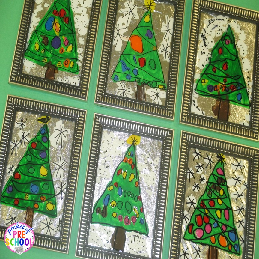 A christmas parent gift stained glass window pictures for Christmas crafts for kindergarten class