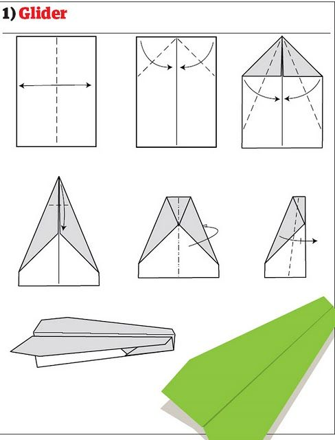 organized chaos origami paper airplanes