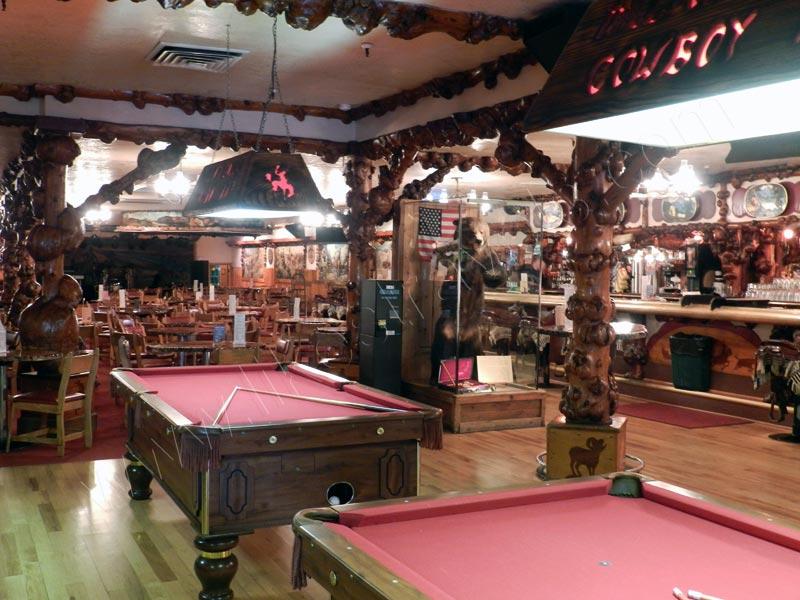 Million Dollar Cowboy Bar - inside - Jackson Hole