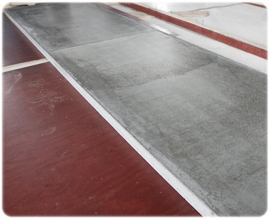 Gjuta betong bänksskiva kök
