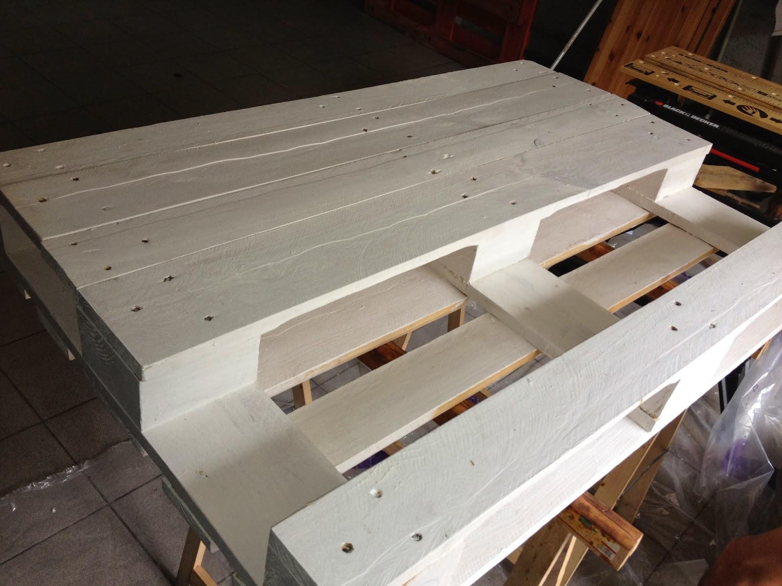 table basse palette diy. Black Bedroom Furniture Sets. Home Design Ideas