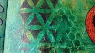 Art journal in progress (Marjie Kemper)