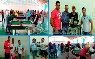 Baraúna realiza 1º Torneio de Sinuca com sucesso