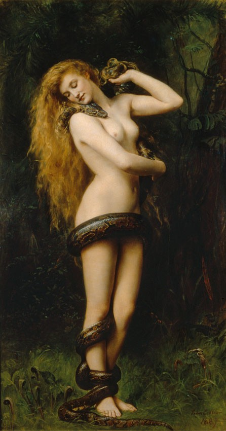 collier lilith painting