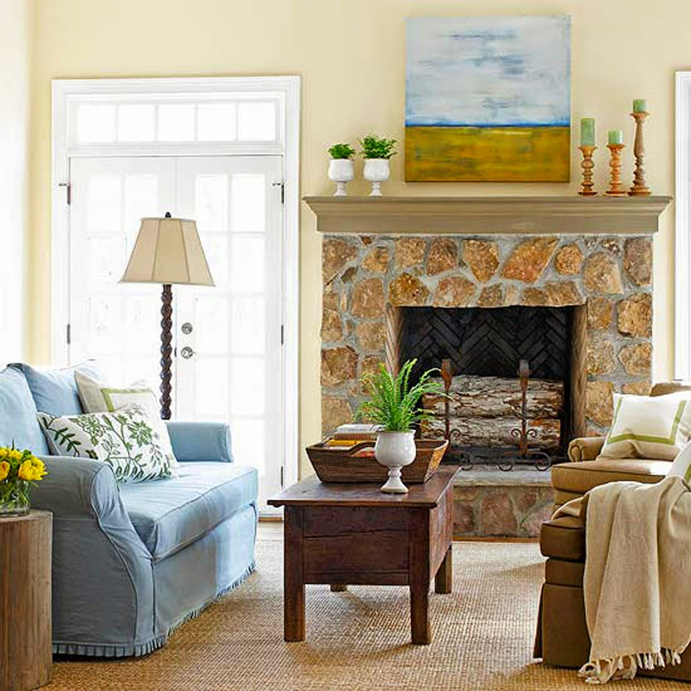 traditional fireplace mantel decorating ideas with brick accent