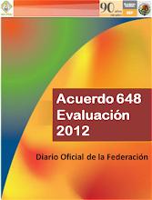Acuerdo 648 Evaluación (descargalo)