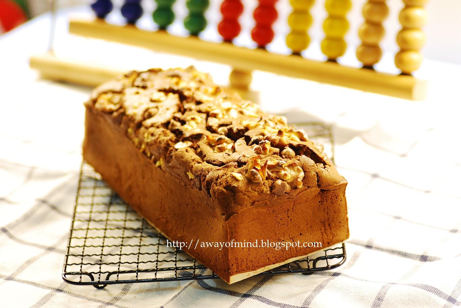 Awayofmind Bakery House: Deep Chocolate Pound Cake (Bake ...