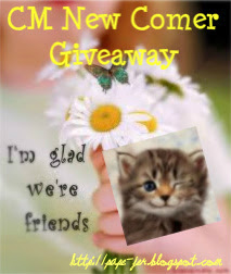 CM NEW COMER GIVEAWAY